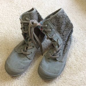 Roxy Shoes - Roxy Army Green Lace Boots